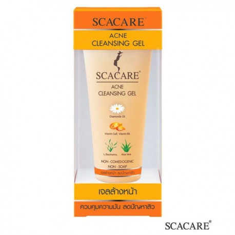 Scacare Acne Cleansing Gel