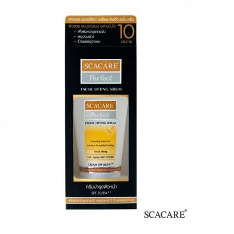 Scacare Perfect Facial Lifting Serum Cream SPF 30