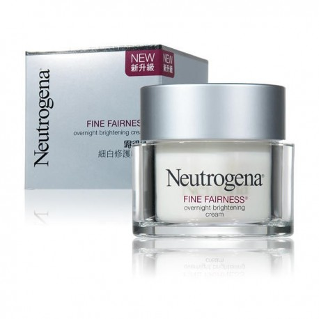 Neutrogena Fine Fairness Overnight Brightening Cream