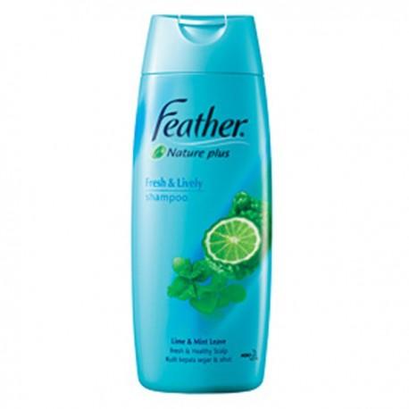 Feather Nature Plus Refresh Scalp Shampoo