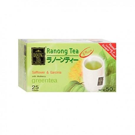 Ranong Mulberry Green Tea with Safflower & Garcinia
