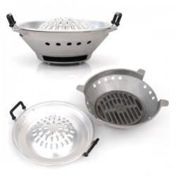 "Thai/Korean Charcoal Barbecue Set 12"" (30 cm)"