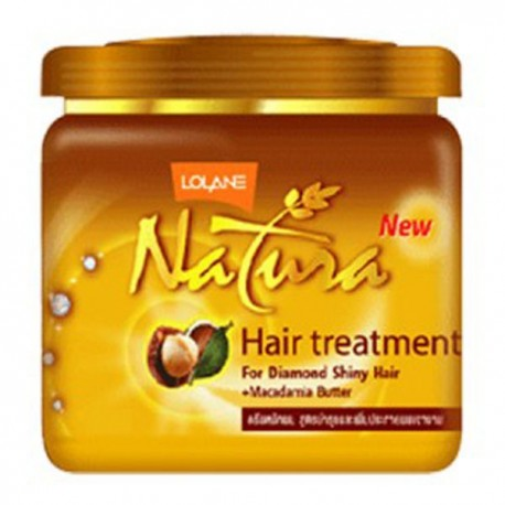 Lolane Natura Hair Treatment with Macadamia Butter