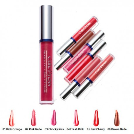 Translucent Liquid Lip Colour