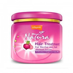 Lolane Natura Hair Treatment with Beetroot Extract