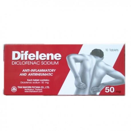 Difelene Diclofenac Sodium Tablets