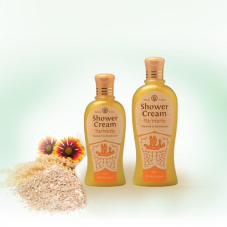 Wanthai Shower Cream Turmeric & Honey