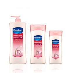 Vaseline Healthy White Perfect 10 Body Lotion