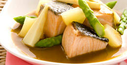 Salmon Sour Yellow Curry