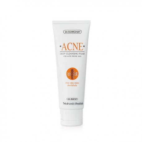 Dr. Somchai Acne Deep Cleansing Foam (Oily Skin)