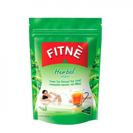 FITNE Herbal Infusion Tea Green Tea Flavour