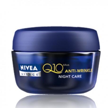 NIVEA Visage Anti-Wrinkle Q10 Plus Light Night Care