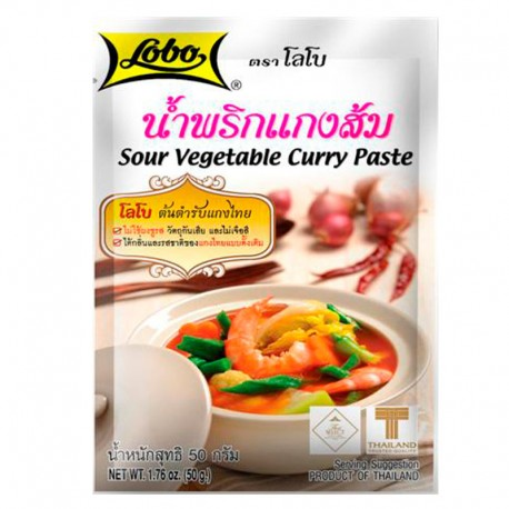 Sour Vegetable Curry Paste