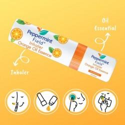 Peppermint Field Orange Oil Essence Inhaler