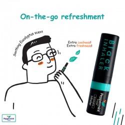 Peppermint Field Black Inhaler