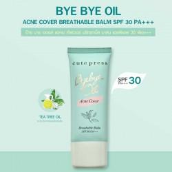 Cute Press Bye Bye Oil Acne Cover Breathable Balm