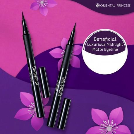 Oriental Princess Beneficial Luxurious Midnight Matte Eyeliner