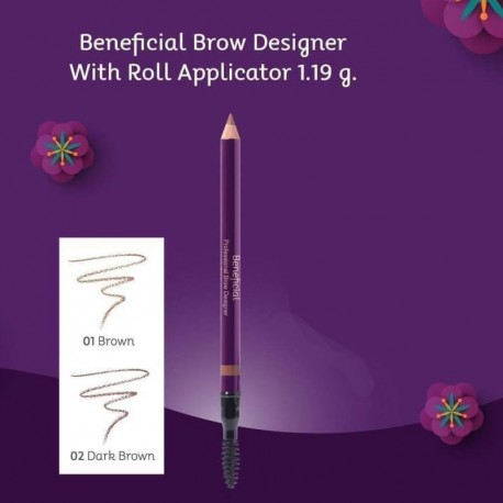 Oriental Princess Beneficial Professional Brow Designer with Roll Applicator