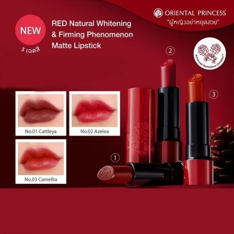 Oriental Princess RED Natural Whitening & Firming Phenomenon Matte Lipstick