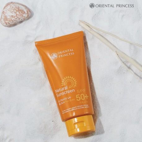 Oriental Princess Natural Sunscreen Ultimate UV Block for Body SPF50+