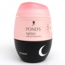 Pond's Lighten and Renew Day and Night cream