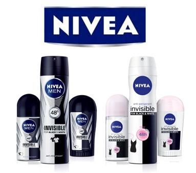 NIVEA Invisible Deodorant